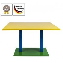 Table de bistrot Flag Duo Topalit - chant Classicline