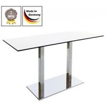 Table de bistrot Flag Duo + plateau de table compact, 10 mm