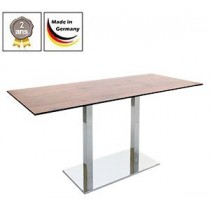Table de bistrot Flag Duo + plateau de table compact, 12 mm