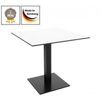 Table de bistrot Flag + plateaux de table compact, 10 mm