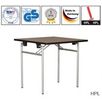 Table pliante Quadro Empress avec plateau HPL