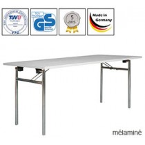 Tables pliantes Eco, King ou Empress