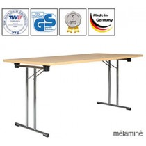 Tables pliantes Standard, Premium ou Exclusive